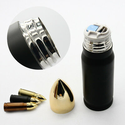 Stainless Steel Bullet Insulated Vacuum Thermos Cup Travel Coffee Mug 12oz/17oz