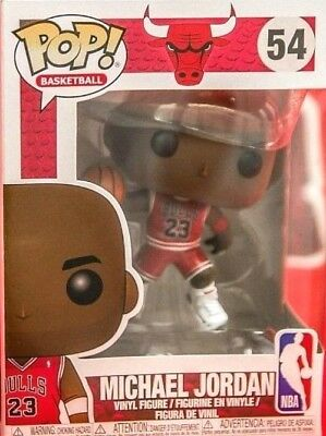 Funko Pop! Basketball NBA Bulls - MICHAEL JORDAN #54 COMMON Figure Pre-Order!