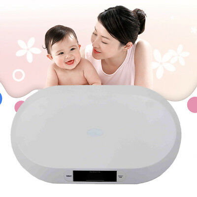 Digital Tare Baby Scale Smart Electronic Baby Body Weight 20kg/44lbs Precision