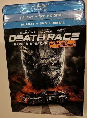 NEW 2018 Death Race Beyond Anarchy unrated  Blu-ray & DVD NO DIGITAL movie