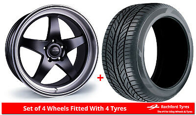 """Alloy Wheels & Tyres 19"""" Dare F7 For Cadillac CT6 16-17"""