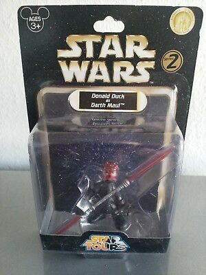 Star Wars Disney-Star Tours exclusive Donald Duck as Darth Maul MOC