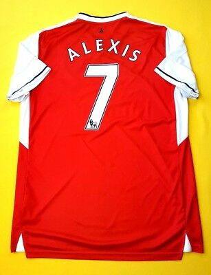 competitive price 490d8 757cc 4/5 ALEXIS SANCHEZ Arsenal jersey large 2016 2017 home shirtsoccer Puma ig93