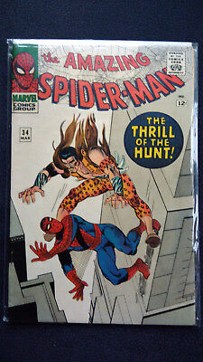 US Amazing Spider- man Vol. 1# 34 Marvel vfn 8.0