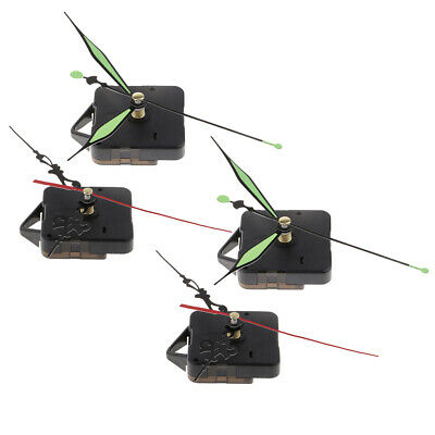 4 Set Battery Operated Movements for Quartz Wall Clock Repair Replacement