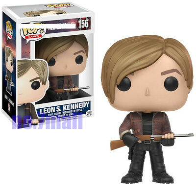 Funko POP Games: Resident Evil-Leon Kennedy Action Figure