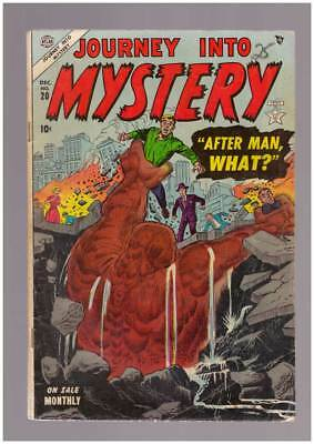 Journey into Mystery # 20  After Man, What ?  grade 4.0 scarce Atlas book !