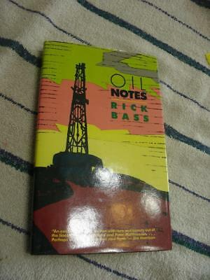 Oil Notes Book