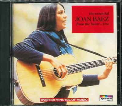 "JOAN BAEZ ""The Essential - From The Heart Live"" CD-Album"