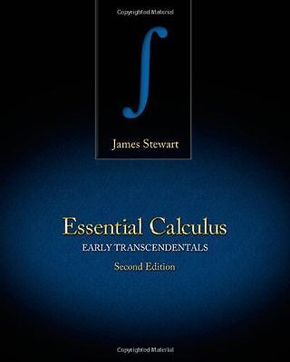 Essential Calculus : Early Transcendentals by James Stewart (2012, Hardcover)