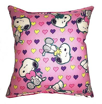 Snoopy Pillow Valentines Day 2019 Pillow Heart, Kiss, Love, Snoopy