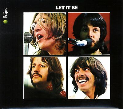 CD The Beatles ‎– Let It Be - Album Nuevo y Precintado
