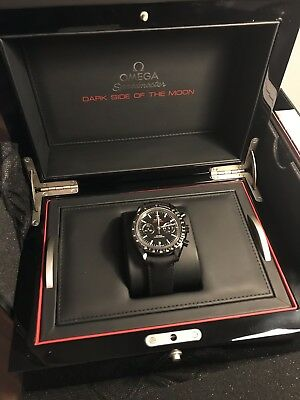 Omega Speedmaster Dark Side of the Moon - 2014 box & papers