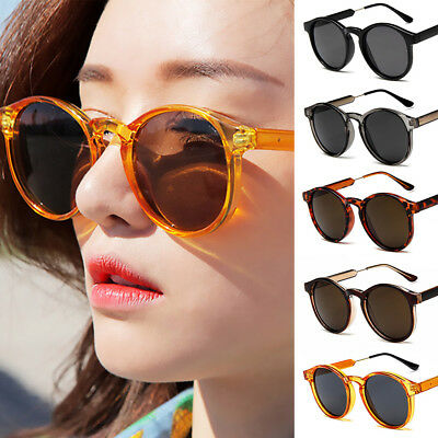 4e3dca74253 2019 Fashion Round Retro Sunglasses UV400 Outdoor Shades Women Mens  Eyeglasses
