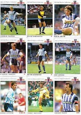 Panini 92 (1992) Official Single Football Cards Coventry City - Various Players