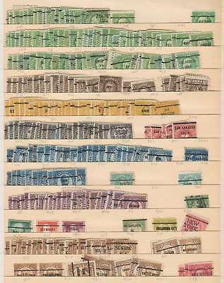 A3405: US Pre-Cancelled Stamp Lot; 500++ pcs