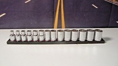 "MAC Tools 14-PC. 3/8"" Drive Metric Socket Set - 6-PT. XB Series 6mm To 19mm H5"
