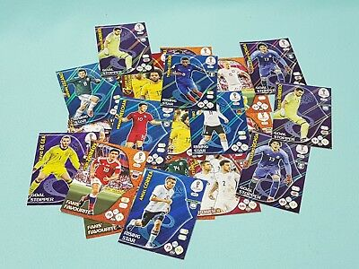 Panini Adrenalyn World Cup Russia 2018 WM 25 gemischte Sonderkarten