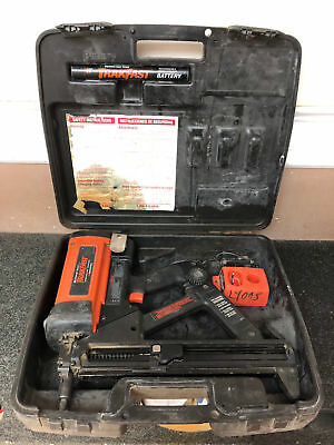 Ramset TF1100 TrakFast Red Head Gas Charged Nail Gun w/ Charger & Battery