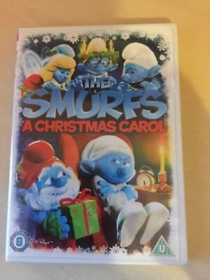 The Smurfs A Christmas Carol (DVD, 2011)