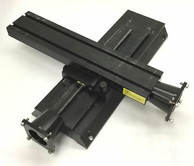 "XY Axis Linear Dovetail Positioner, NEMA 23 Motor Mount, 7"" and 9"" Travel"