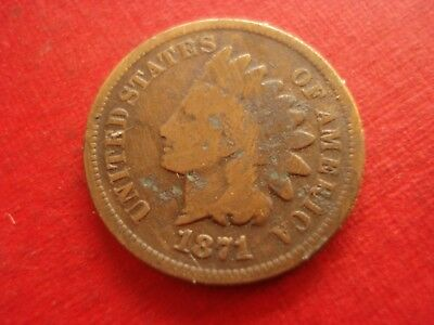 1871 Indian Head Cent