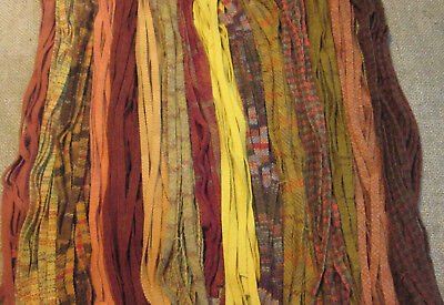 Peak Foliage 200 Hand and Mill dyed  #8 Rug Hooking Wool Strips