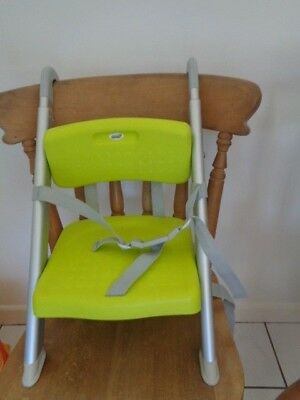 litaf hang n seat booster seat fits on chair handy sit