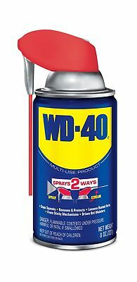 WD-40 Multi-Use Product - Multi-Purpose Lubricant with Smart Straw Spray. 8 o...