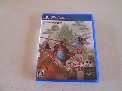 Ketsui Deathtiny (Sony PlayStation 4). Japan Import. Mint & Complete. PS4.