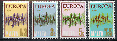 Malta 1972 Europa set of 4 SG478-481 MNH unmounted mint *COMBINED SHIPPING*