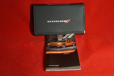2014 Dodge Challenger Owner's Manual