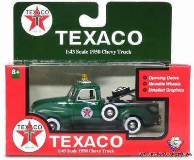 TEXACO GAS 1:43 1950 CHEVY TOW TRUCK DIECAST GEARBOX GM 2006 50s Gas Chevrolet