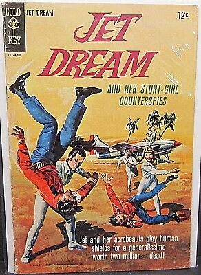 Jet Dream and Her Stunt Girl Counter Spies Gold Key Silver Age One Shot #1 1968