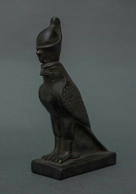 Ancient Egyptian Antiques Horus Falcon Goddess Egypt God Statue Carved Stone BC