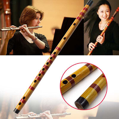06E7 Beginner F Key Bamboo Flute Flauta Traditional Chinese Wind Instrument