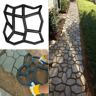 New Path Maker Mold Reusable Concrete Cement Stone Design Paver Walk Mould 2019