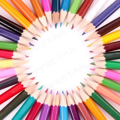 20 X TESCO COLOURED PENCILS WALLET GOOD QUALITY ADULT COLOURING INC GOLD SILVER