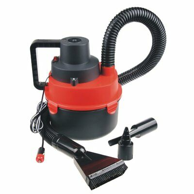 12V Car Interior Wet Dry Vacuum Cleaner Inflator Portable Turbo Hand Held RED FD