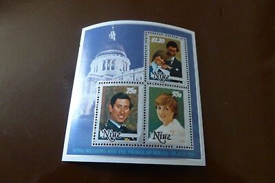 Royal Wedding HRH The Prince Of Wales 28 July 1981 3x stamps  Lady Diana Spencer