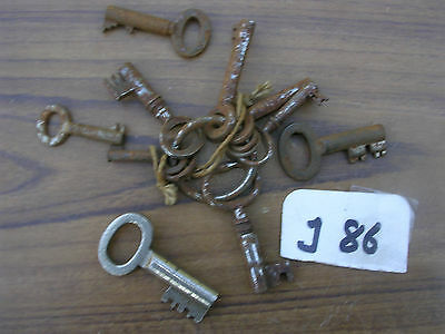 Job Lot Of Antique  Keys