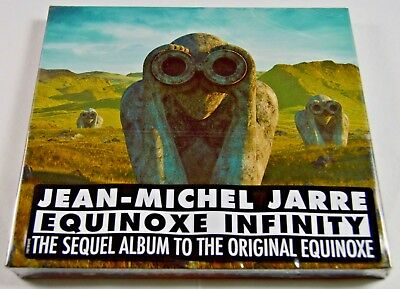 Jean Michel Jarre - Equinoxe Infinity  ** NEW CD ** (sealed digipack)  2018