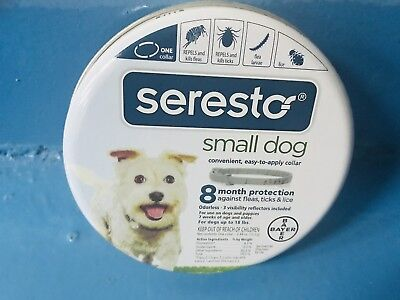Seresto 8 Month Flea & Tick Prevention Collar for Small Dogs