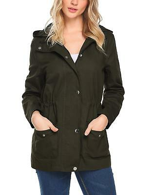 dc9d59feecf91 Zeagoo Women s Military Anorak Utility Classic Safari Jacket with Pockets