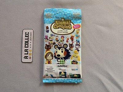 Booster Cartes Amiibo Animal Crossing Série 3 | Nintendo Wii U, Switch, 3DS