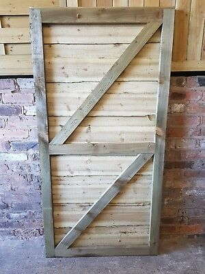 6Ft Super Heavy Duty Waneylap Fully Framed Treated Garden Gate Collection