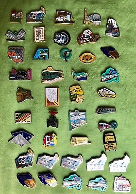 Lot 40 Pin's Ratp / Sncf