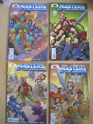 MASTERS of the UNIVERSE : COMPLETE 2002 VOL 1, 4 ISSUE IMAGE SERIES. HE MAN