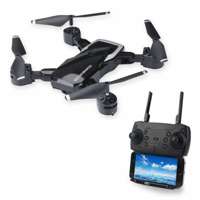 Foldable FPV RC Quadcopter With 2MP Camera Wifi FPV HD 2.4G 6-Axis RC Drone Gift