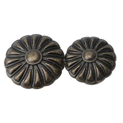 Vintage Style Bronze Tone Drawer Door Pull  Cabinet Knobs Hardware Handle LD